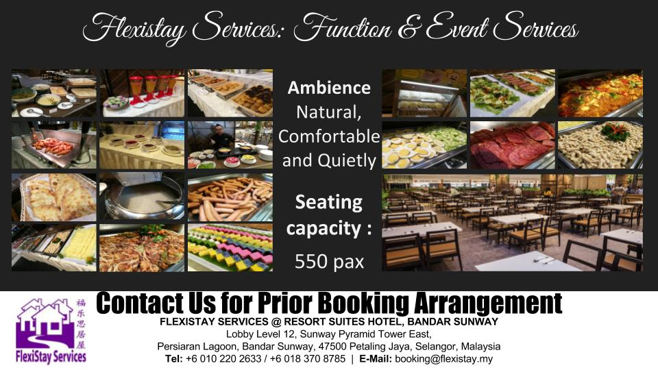 Flexistay Services - Function and Event
