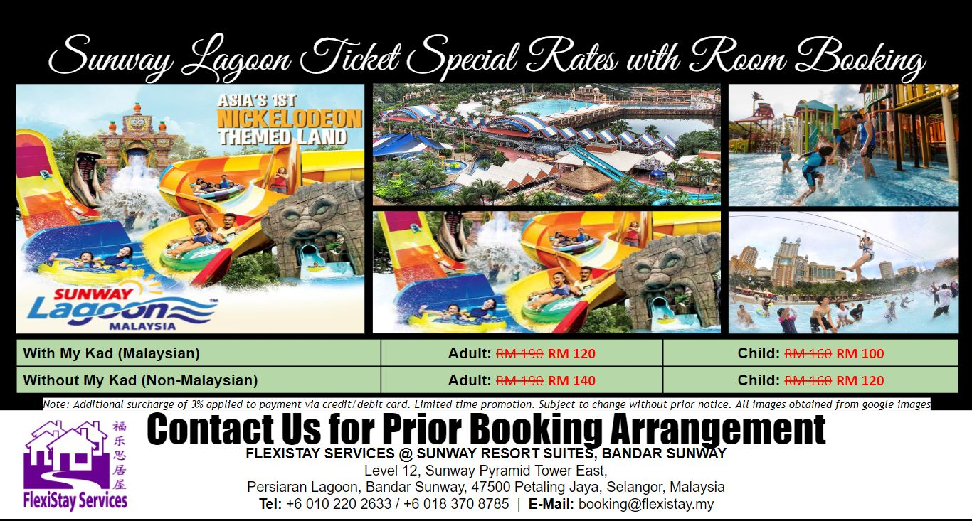 Flexistay Services - Sunway Lagoon Ticket